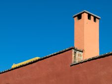 Free Roofline With Chimney Stack Stock Photography - 8041062