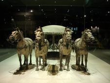 Free China S Terracotta Warriors And Horses Unearthed R Stock Image - 8041481