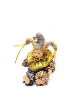 Harlequin Doll Royalty Free Stock Photos