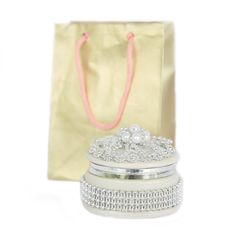 Free Jewelry Case And Paper Bag Royalty Free Stock Images - 8042069