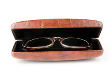 Free Glasses In The Case Royalty Free Stock Photography - 8042127