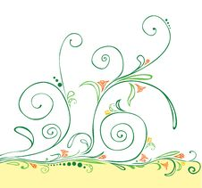 Free Colorful Floral Background For Designers Stock Image - 8042251