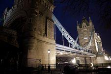 Tower Bridge Closeup Stock Photography