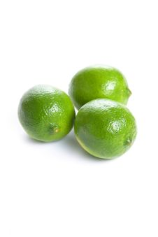 Free Limes Cut In Half Royalty Free Stock Photo - 8043415