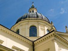 Free Baroque Catholic Church Stock Photography - 8044272