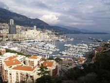 Free Monte Carlo Harbour Royalty Free Stock Photography - 8044497