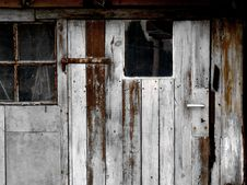 Free Door Of A Workshop Royalty Free Stock Photography - 8044507