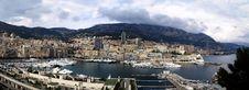 Free Monte Carlo Harbour Panorama Stock Photos - 8044513