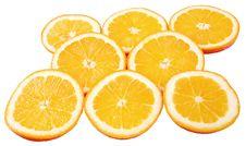 Free Ripe Orange Royalty Free Stock Photography - 8044537