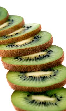Free Slices Of Kiwifruit Stock Photography - 8044552