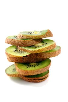 Free Slices Of Kiwifruit Stock Images - 8044554