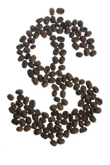 Free Coffey Dolar $ Sign Royalty Free Stock Photo - 8044655