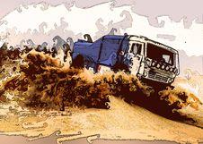 Free Car In Desert Stock Photos - 8044713
