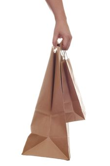 Free Hand Carrying Shopping Recycling Bags Stock Photo - 8044960
