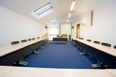 Free Empty Classroom Royalty Free Stock Photography - 8045147
