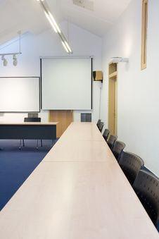 Free Empty Classroom Stock Image - 8045181