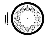 Free Designed Clock Royalty Free Stock Photo - 8045195