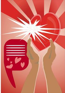 Free Heart In Hands Royalty Free Stock Image - 8045226