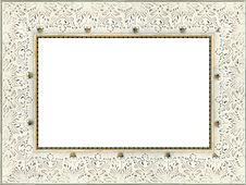 Free White Frame Stock Image - 8045531