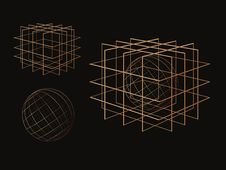 Free Wire Cube Royalty Free Stock Photos - 8046628