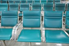 Empty Seats In Airport Stock Photos