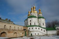 Free Kiev-Pechersk Lavra Monastery In Kiev Royalty Free Stock Images - 8048029