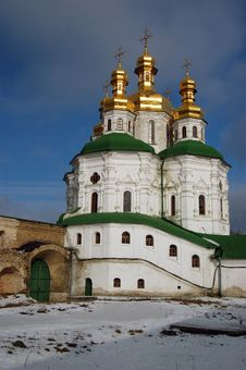 Free Kiev-Pechersk Lavra Monastery In Kiev Stock Photography - 8048042