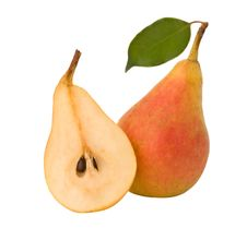 Free Pear And Its Section Royalty Free Stock Photography - 8048307