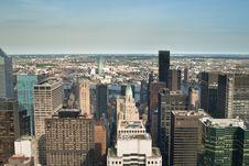 Skyscrapers I NYC Royalty Free Stock Photos