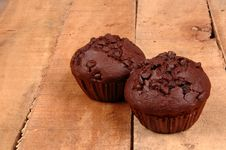 Free Chocolate Muffins Royalty Free Stock Photos - 8048818