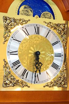 Free Clock Dial Royalty Free Stock Images - 8049219