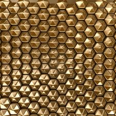 Free Hexagon Background Royalty Free Stock Image - 8049246