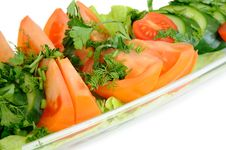 Free Salad Royalty Free Stock Photo - 8049285
