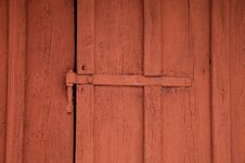 Free Detail Of A Red Shed Stock Photo - 8049930