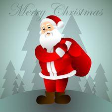 Free Santa Claus.Cartoon Character. Xmas. Stock Photography - 80422322