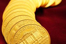 Free Gold Ounces Stock Photos - 8050393
