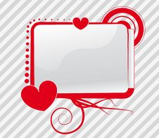 Free Loving Screen Stock Photography - 8051082