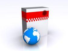 Free Software Box Stock Image - 8051121