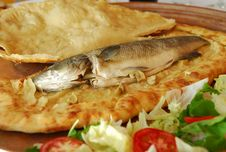 Free Sea Bass In The Pitta Stock Image - 8051331
