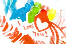 Free Spilled Paints Stock Images - 8051514