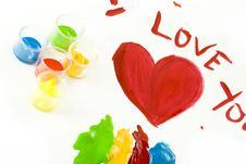 Free Valentines Day Painting Stock Photos - 8051533