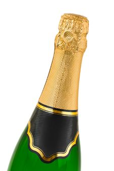 Free Champagne Bottle Stock Images - 8051634