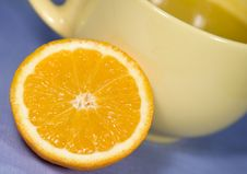 Free Fresh Oranges And Orange Juice Stock Image - 8052031