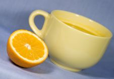 Free Fresh Oranges And Orange Juice Stock Image - 8052041