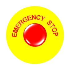 Free Emergency Stop Stock Photo - 8052480
