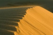 Free Sand Ripples Royalty Free Stock Image - 8052536