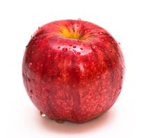 Free Red Apple Royalty Free Stock Photography - 8052727