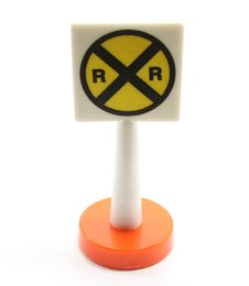 Free Railroad Crossing Toy Royalty Free Stock Photography - 8052947