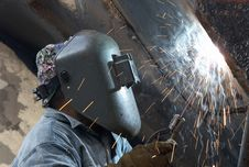 Free Welder Mask Stock Photo - 8052970