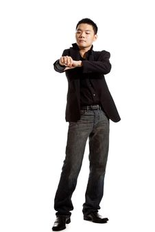 Free Stylish Asian Young Man Stock Image - 8053351
